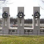 Oklahoma's section of the WWII memorial.