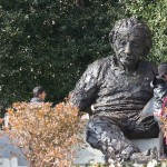 Creepy Einstein Statue
