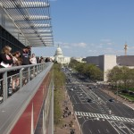 From the balcony of the Newseum